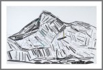 UPON THIS ROCK (Mt. Everest Version), 2009. CD Stickers on Paper. 38 inches x 58 inches.