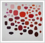 Kevin Teare, There Are Exactly 57 Reds (for John Frankenheimer), 2000. Oil on Linen. 68 inches x 72 inches.