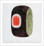 BEATLE IOTA 6 /BEATLES '65, 2010. Watercolor on Paper. 8 inches x 8 inches.
