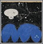 Kevin Teare, God As An Outlet (Current) 1980. Oil And Wax On Paper, 60 X 60 inches.